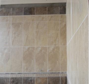 墙面砖——【美颂雅庭专用】使用圣戈班•韦伯粘接剂代替普通水泥沙浆粘接墙砖,避免墙砖出现空鼓、脱落现象。