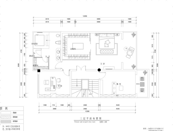 檀香山别墅独栋别墅效果图平面布置图