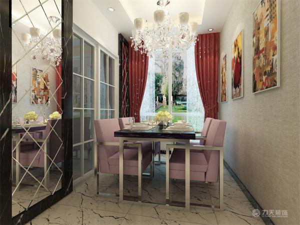 主卧室地面采用实木地板,给人一种干净舒适的感觉。墙面刷白色乳胶漆,同时配以夸张时尚钟表给人眼前一亮的感觉。