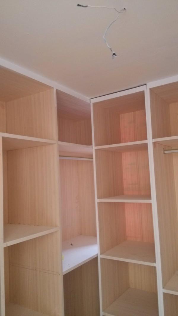 超凡装饰装修设计-升龙又一城简约装修设计-衣帽间做的柜子