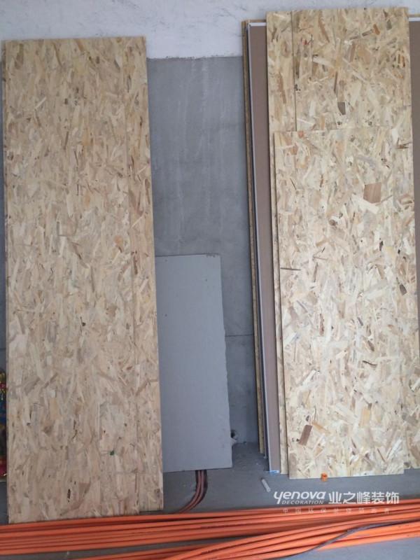 板材用的是德国的欧松板和奥松板,环保系数很高。