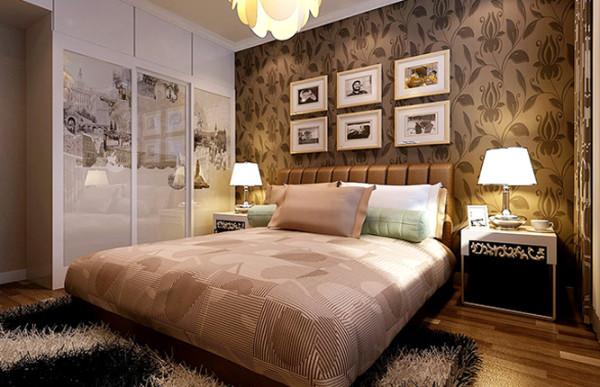 昌建誉峰143平方三室两厅两卫一厨装修效果图---卧室装修效果图