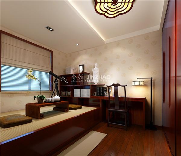 坐垫式的仿古会客室,典雅不失色调,艺术而又商务。