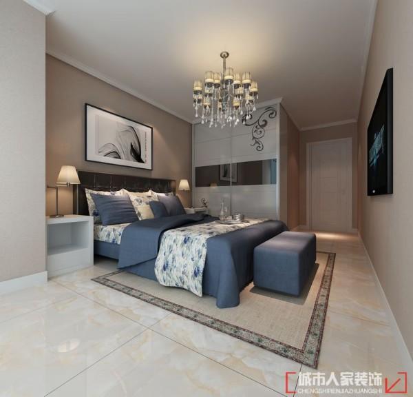 中建群星汇160平米简约风格次卧室设计图