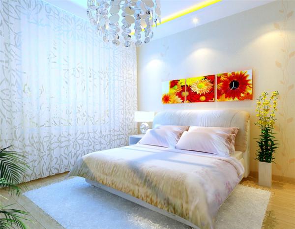 客厅背景墙用线的延展,来表现空间的有容乃大,而色调与配饰的精心搭配,辅以灯光的层次,重点呈现家对人的活力特征,呈现家的明亮清爽,而这也是业主所希望家所带给人的心情渴望。