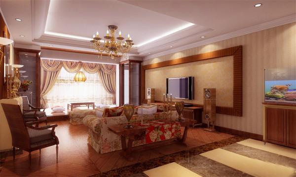 次案例为二层别墅,在设计上采用了简欧风格,本着简单、统一与协调、平衡、尺度和比例、趣味、功能性的设计原则。