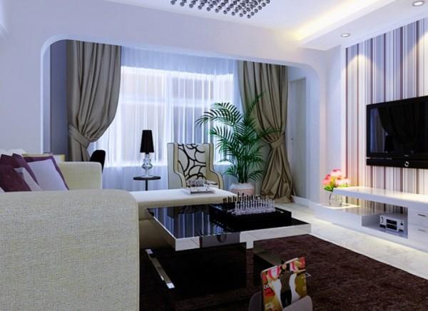 设计理念:客厅结合客户自身的需求与习惯以客厅的时尚与现代居室风格的碰撞,设计师以现代的装饰手法和家具,结合简约中式的装饰元素,来呈当今现代风格的空间氛围。