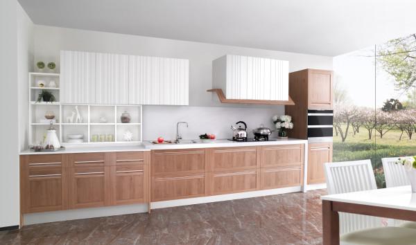 司米设计师走遍法国,终于在苹果酒之路上,遇见了这样的心安,花红叶绿,白漆木门,如画美景……成为了司米·贝弗龙橱柜的设计原动力。