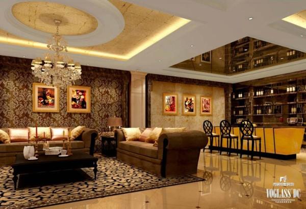 整体功能在原有五间卧室的基础上增加到七间卧室,并增加了许多功能区,包括室内植物花房,健身区,品酒区,酒窖,活动家庭室,影音室,台球厅,影音室,SPA区,桑拿区等,使整体空间的功能性更加完整。