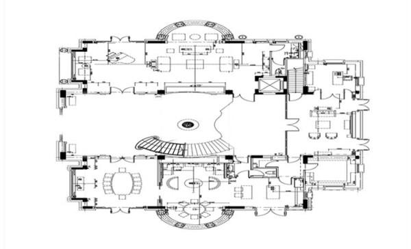 平面户型布局图