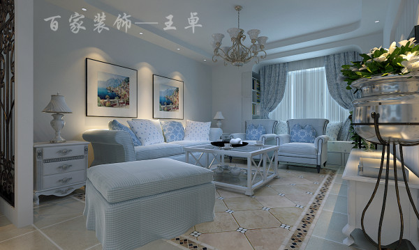 作为一个房间的中心,客厅成为了设计的重中之重,设计师精心设计、精选材料,来充分体现主人的品味和意境。