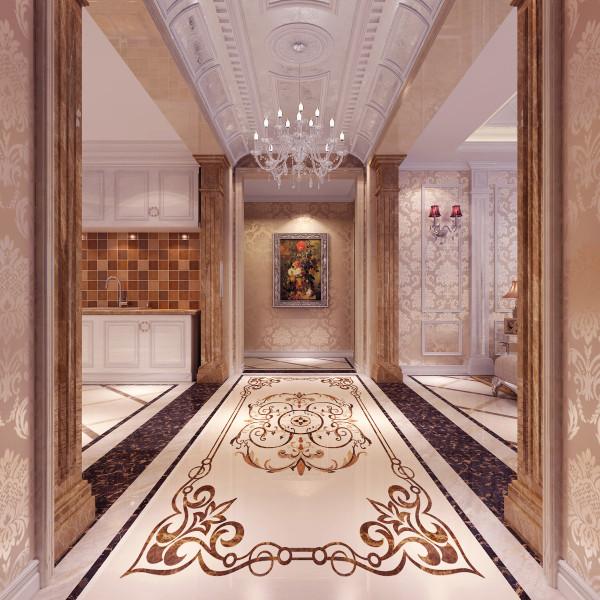 客厅非常需要用家具和软装饰来营造整 体效果。深色的橡木或枫木家具,色彩鲜艳的布艺沙发,都是欧式客厅里的主角 。还有浪漫的罗马帘,精美的油画,制作精良的雕塑工艺品