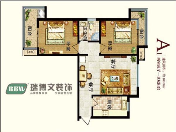 在现代化日益进步的今天,简式的家居设计越来越收到广大人群的喜爱。本案为常见的两室两厅户型,空间布局紧凑,明厨明卫、两卧室双阳台设计大大的提高了生活舒适度