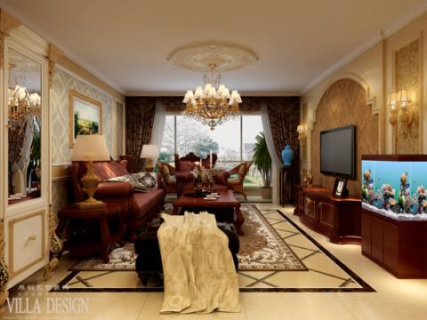 尊贵又不失高雅的居家情调。