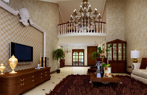 此设计方案紫炉山庄小区,套内面积280平米别墅。首先定义了装修装饰的整体风格为——简欧