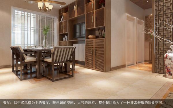 实木的家具、木雕配上如水墨画般的石材背景墙及地上的仿古砖颇具中国风,也会显示出家里的人的沉稳性格。
