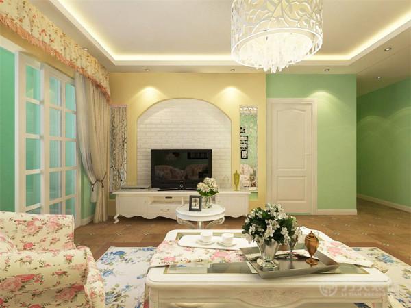 此户型为金地艺境7-9、16-18号楼标准层C-1户型3室2厅2卫1厨 135.00㎡,本设计方案为田园风格