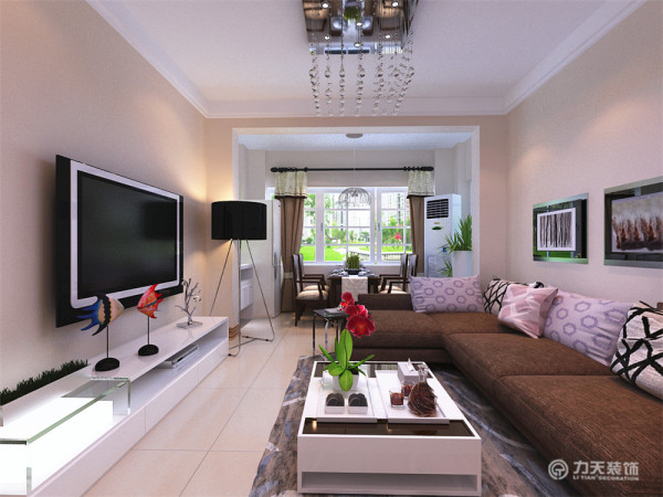 这是一套花香漫城2室2厅1厨1卫89.00㎡的户型。本户型面积适中,风格属于现代简约风格,所以此次设计方案定义为现代简约风格。