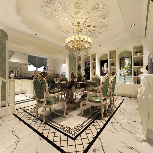 开放式的空间结构、随处可见的花卉和绿色植物、雕刻精细的家具……所有的一切从整体上营造出一种田园之气。