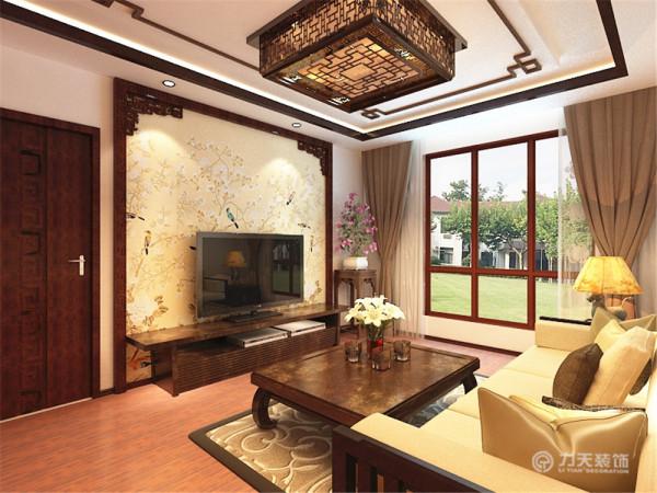 该户型为智造创想城标准层d1户型3室2厅2卫1厨,设计风格是新中式,通过对传统元素的结合打造出富有传统韵味的艺术感觉。
