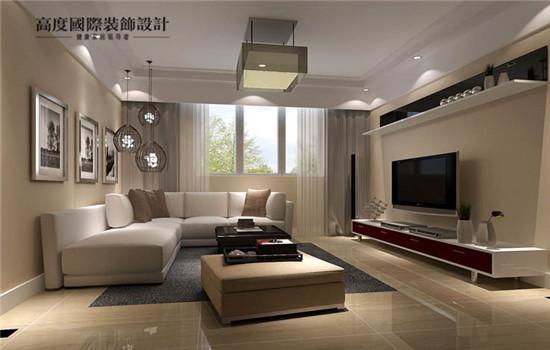 简约设计的客厅,简约不简单,富有时尚感