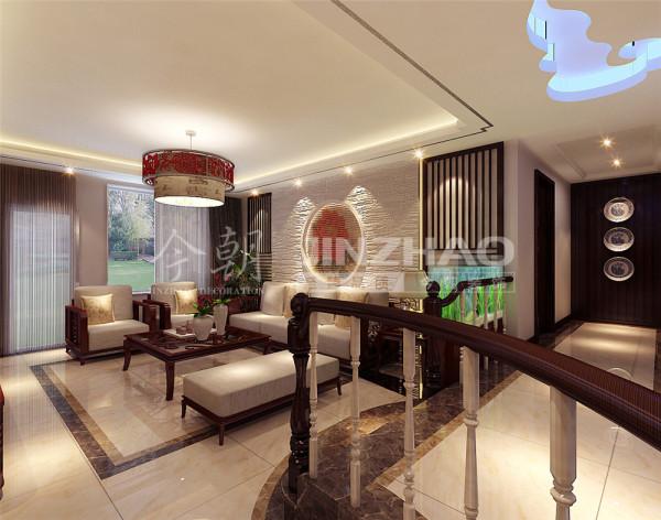 【设计说明】:传统的中式风格装饰需要花费的造价较高,给人庄重、华丽、优雅的感觉。