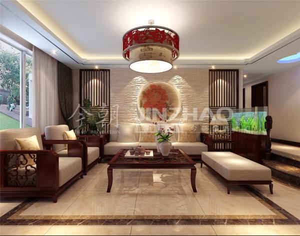 【设计说明】:虽然透露出浓浓的中国文化的味道,但是缺少了现代生活的气息。