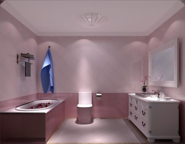 粉红色墙面,浪漫有情调