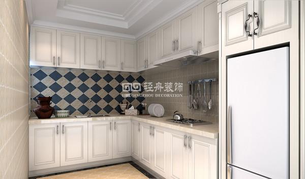 徜徉集三居室户型厨房效果图展示