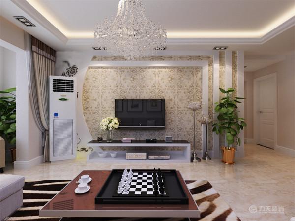 此次设计风格为雅致风格,将现代主义的简约与欧式的优美线条巧妙结合,打造一个高品位的居室。