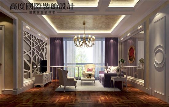 简约欧式风格的客厅(二层)