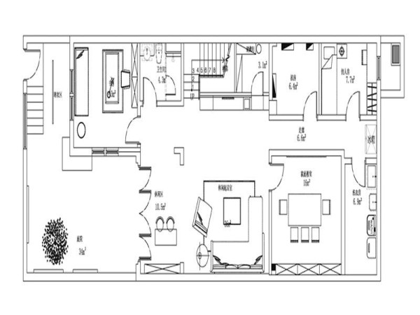 三楼户型图