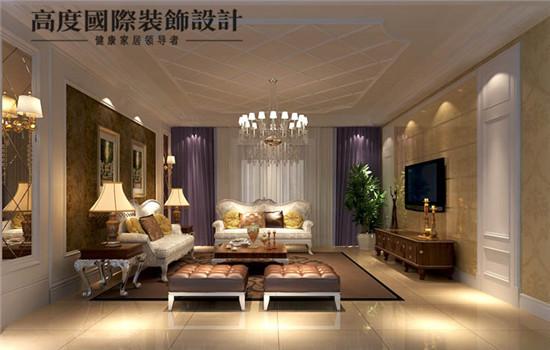 贵族,欧式风格的客厅(一层)
