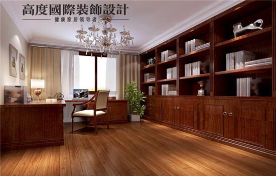 低调的书房,让您安心工作学习