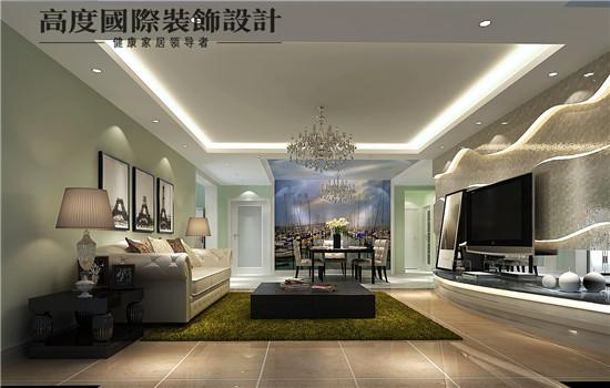 低调奢华的客厅