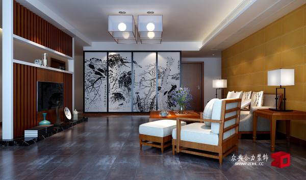 客厅 中式古典风格