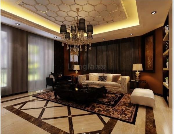 新古典主义装饰风格的住宅,空间装饰讲究通过线与线的交织、细节线条多以弧线为主,拼接形成不同的图案,营造出雍容淡雅的韵律感,而细节处刻意雕刻而成的线条,更让人产生一种精雕细琢的品位。