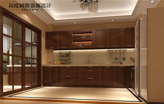 一体化的厨房,充分利用空间