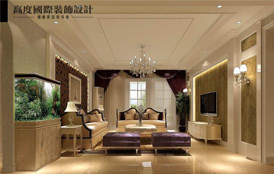 西洋风的客厅,奢华高贵