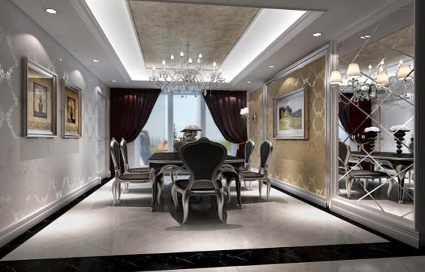 将传统欧式家居的奢华与现代家居的使用性完美的结合