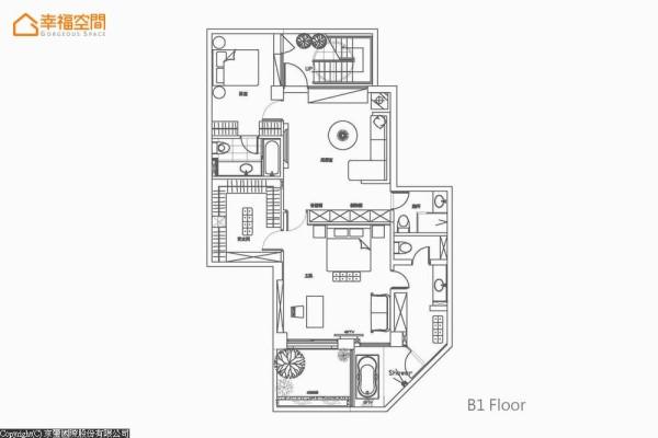 B1平面配置图