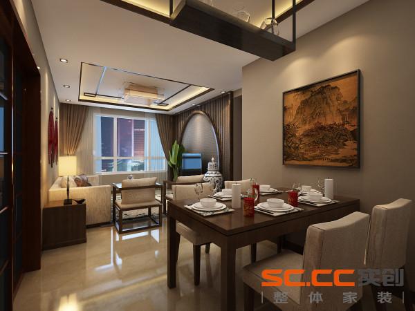 设计理念:餐厅是一天工作繁忙之后,沟通较多的地方,遂不必过于繁杂。亮点:家居与客厅统一,餐厅的空间讲究对称且划分简单合理,给了主人们更充裕的自由活动空间.