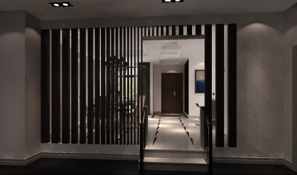 在材质上,运用暖色墙 漆等,将传统风韵与现代舒适感完美地融合在一起