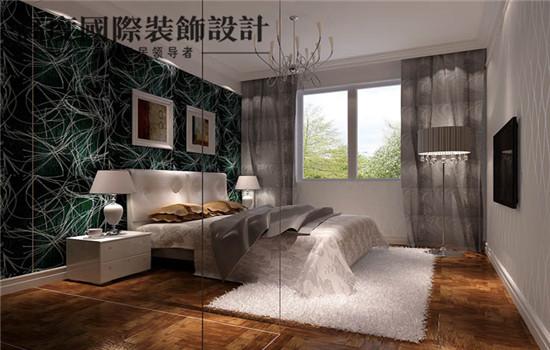 时尚的卧室