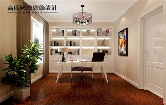 给您一个舒适安静的书房,让您安心读书工作