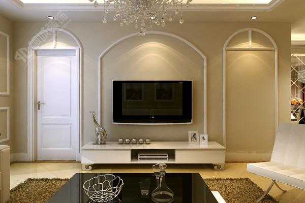 简欧家居风格从整体到局部,从空间到室内陈设塑造,都给人一种精致印象。