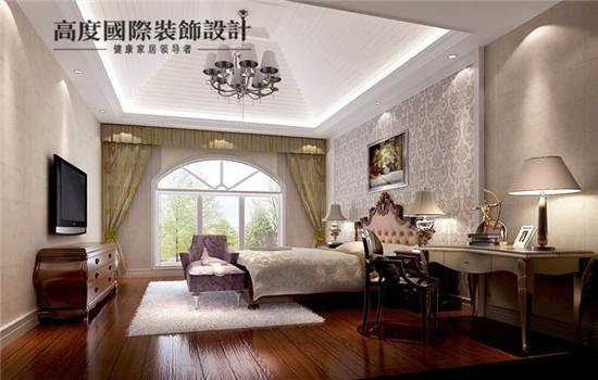 采光效果十足,时尚的卧室