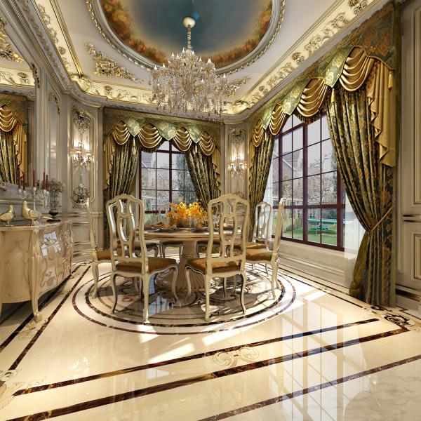 金科王府法式宫廷餐厅设计图