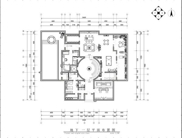 金科王府法式宫廷平面布置图