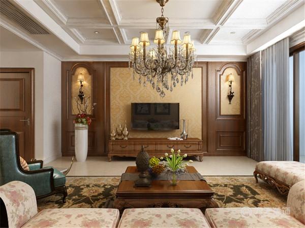 本次设计风格是美式风格,是以古典柱式为中心的风格。美式的居室有的不只是豪华大气,更多的是惬意的浪漫。通过完美的曲线,精益求精的细节处理,带给家人无尽的舒服触感。美式装饰风格最适用于大面积房子